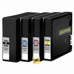 Cartuccia Canon 2500 xl Ciano compatibile 20ML  iB4050,MB5050,MB5350-1,7K9265B001