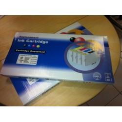 10 Cartucce Compatibili xl  T0711-712-713-714 (4x black+6 color)