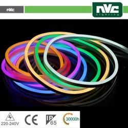Tubo LED Neon Flessibile - 8W RGB 25Mt IP65 AC220-240V