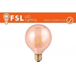 FSL G95 6W-600LM300º-95x133mm-2200K-E27AC220-240V CRI80