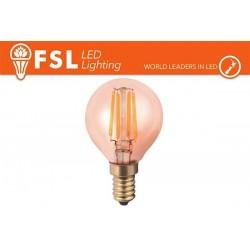 FSL G45 4W-330LM300º-45x75mm-2200K-E27AC220-240V CRI 80