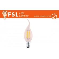 FSL BT35 4W-300LM300º-35x115mm-2200K-E14AC220-240V CRI 80