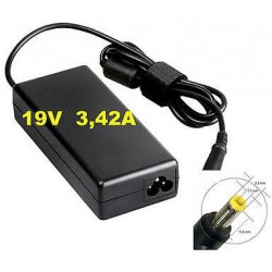 Charger Acer 19V 3.42A connector 5.5x1.7mm power 65W