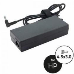 Adapter HP 19.5V 90W 4.62A 4.5x3.0 +pin (90angle,blu)