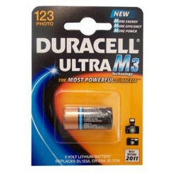 10x DUR. DL123A 1x 3v lithium - 10 blister