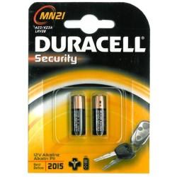 2 pile Duracell MN21 2x 12volt - blister