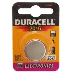 10 Pile a bottone Duracell DL2016 1x 3v - litio 10 blister