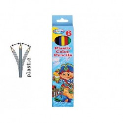 PASTELLI 6 COL PIRATE PAPER BOX
