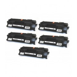 KIT 5 TONER HP CB435/436/278A/285A