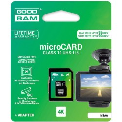 microSDHC 32GB Cl. 10 UHS-I U3 + adapter for 4K - retail bli