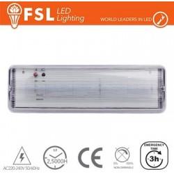 Luce d'emergenza LED 4W - 4000K 420LM IP65 SE