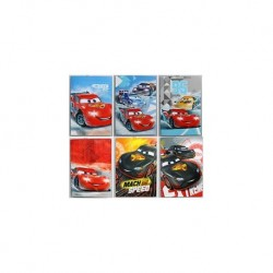 A4 QUADERNO CARS RIGATURA 10MM 21FF