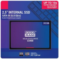 SSD GOODRAM CX400 512GB SATA III 2,5 - retail box
