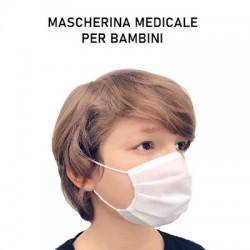 Per Bambini mascherina Chirurgica Medicale monouso 3 strati conf.50 pz