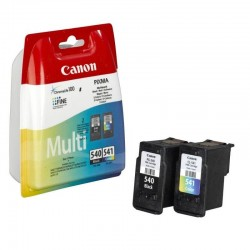 PACK ORIGINALE CANON PG-540 NERA + CL-541