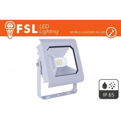 Faretto Impermeabile 10W - 4000K 800LM 120° IP65