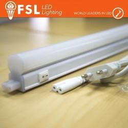 T5 LED Plafoniera 10W 810LM 4000K G5 Size: 870x22.5x38.5