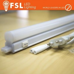 T5 LED Plafoniera 14W 1200LM 4000K G5 Size: 1170x22.5x38.5