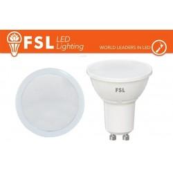GU10 Lampadina LED - 3W 3000K 250LM 100° CRI80 Antiriflesso