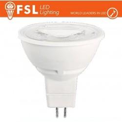 MR16 Lampadina LED - 6W 6500K 520LM 38º CRI80  AC 12V
