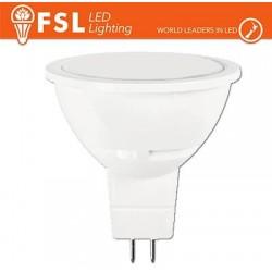 MR16 Lampadina LED - 6W 3000K 500LM 100º CRI80 AC 12V