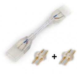 10x - 1 Connettore + 2 pins  striscie color singolo