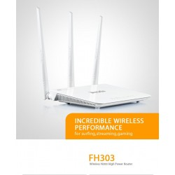 Router Wireless N300 3 Porte LAN+Porta WAN 2T3R Tenda FH303