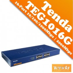 Switch TENDA TEG1016D 16 porte 10/100/1000MBPS 11''