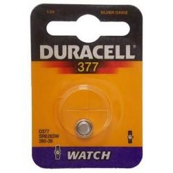 10 pile a bottone Duracell D377 1x 1,5volt - 10 blister