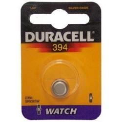 10 pile a bottone Duracell D394 1x 1,5volt - 10 blister