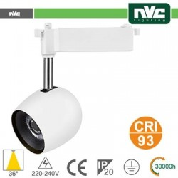 Faretto a Binario LED - 24W-4000K 980LM/36° CRI+93