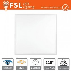 Pannello LED 48W - 3700LM 4000K 110º 595x595