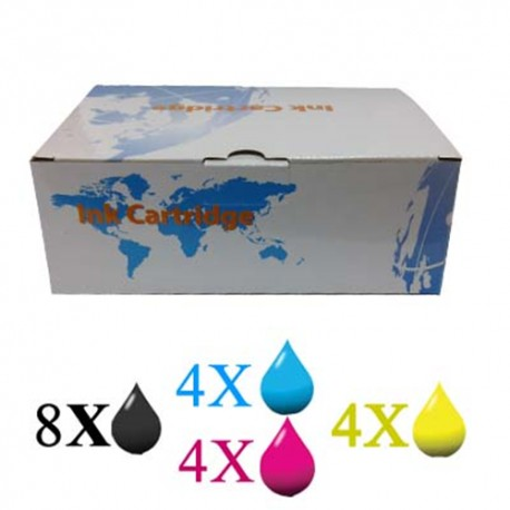 MULTIPACK 10 CARTUCCE EPSON SERIE 1281