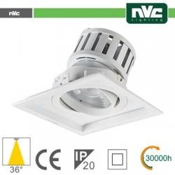 Incasso Multi lampada - 24w(1x24w) 3000k 2140lm 36° PF95