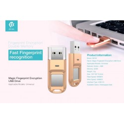 Chiavetta USB con Impronta Digitale di sicurezza 32gb