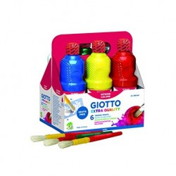 KIT 6 FL 500ML GIOTTO PAINT ASSORTITI